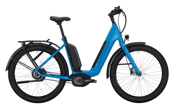 e-Citybike Victoria eUrban 13.9 blau, silber 2021