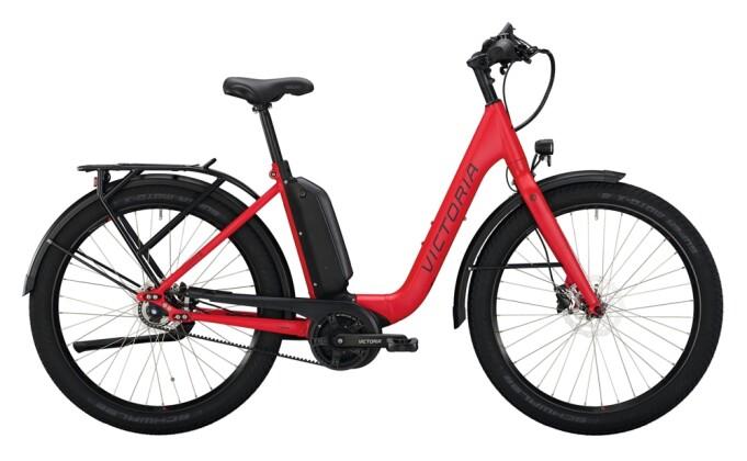 e-Citybike Victoria eUrban 11.8 rot, schwarz 2021