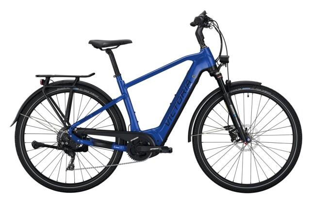 e-Trekkingbike Victoria eManufaktur 12.8 blau 2021