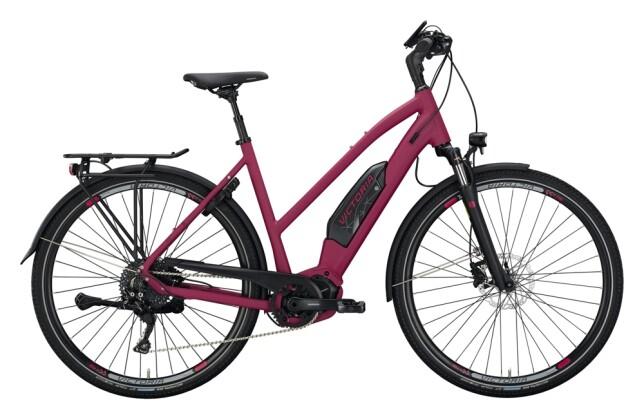 e-Trekkingbike Victoria eTouring 8.8 violett, schwarz 2021