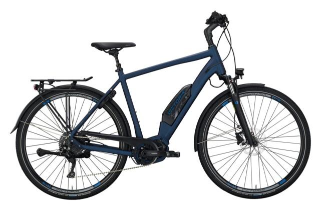 e-Trekkingbike Victoria eTouring 8.8 blau, grau 2021