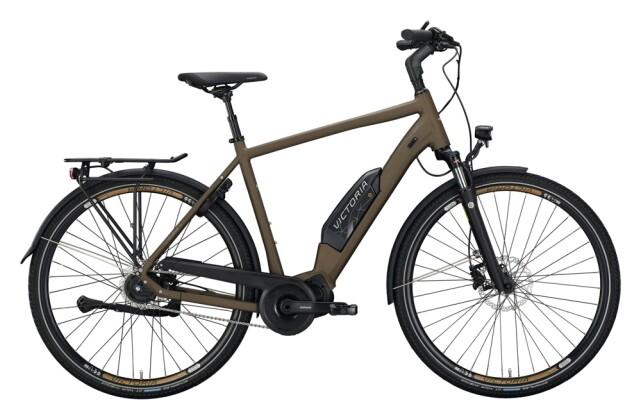 e-Citybike Victoria eTouring 7.7 schwarz, braun 2021