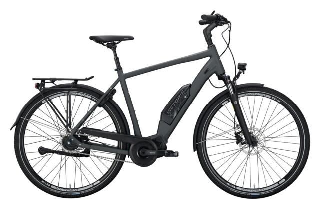 e-Citybike Victoria eTouring 7.5 grau, silber 2021