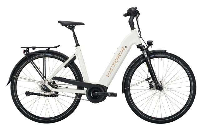 e-Citybike Victoria eTrekking 11.6 weiß, silber 2021