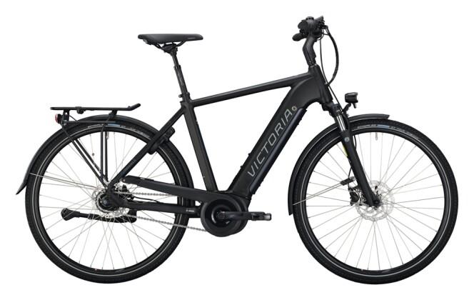 e-Citybike Victoria eTrekking 11.4 schwarz, blau 2021