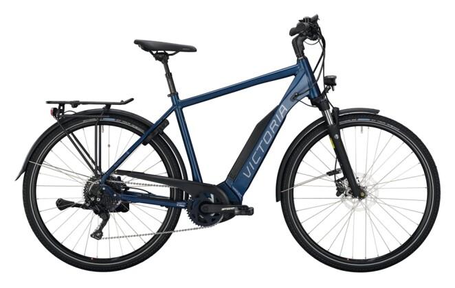 e-Trekkingbike Victoria eTrekking 10.8 blau 2021