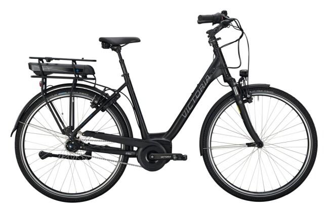 e-Citybike Victoria eTrekking 7.6 schwarz, blau 2021