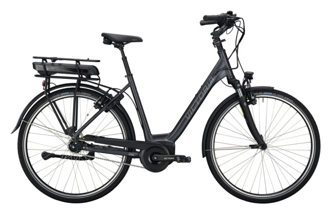 e-Citybike Victoria eTrekking 7.5 grau, rot 2021