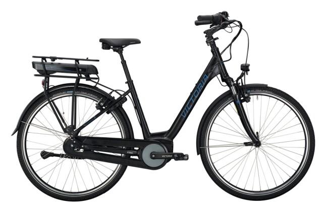 e-Citybike Victoria eTrekking 7.4 H schwarz, grau 2021