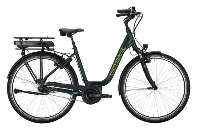 e-Citybike Victoria eTrekking 5.10 grün, grau 2021