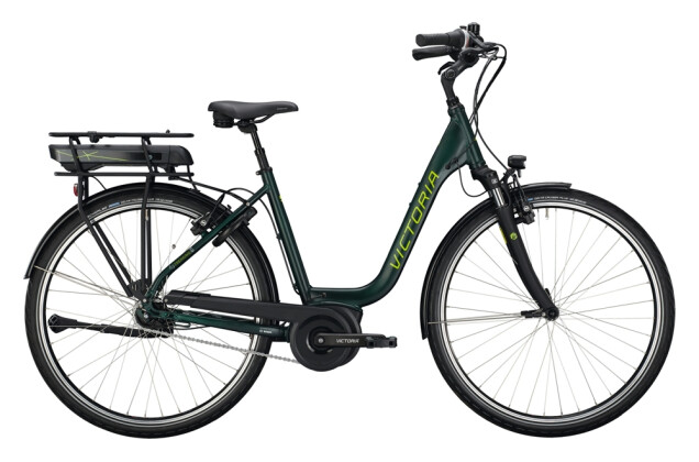 e-Citybike Victoria eTrekking 5.9 grün, grau 2021