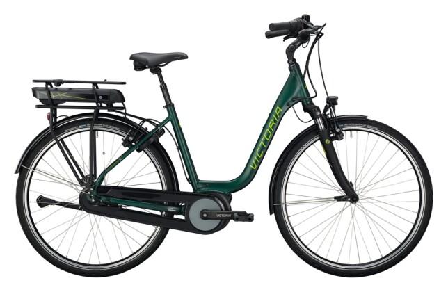 e-Citybike Victoria eTrekking 5.9 H grün, grau 2021