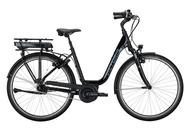 e-Citybike Victoria eTrekking 5.7 schwarz, blau 2021