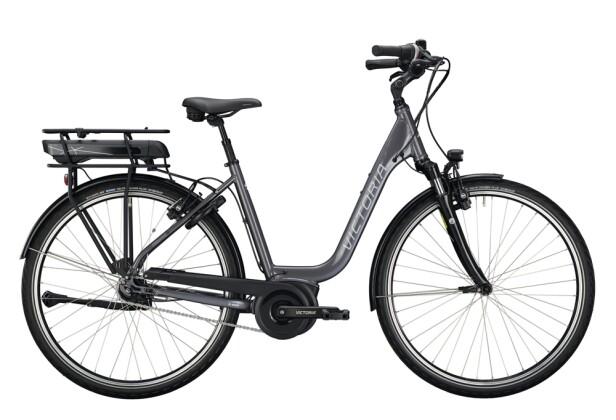 e-Citybike Victoria eTrekking 5.5 grau, schwarz 2021