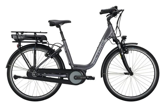 e-Citybike Victoria eTrekking 5.5 H grau, schwarz 2021