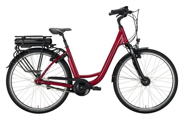 e-Citybike Victoria eClassic 3.1 rot, silber 2021