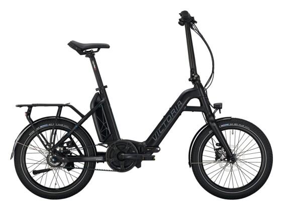 e-Faltrad Victoria eFolding 7.6 schwarz, blau 2021