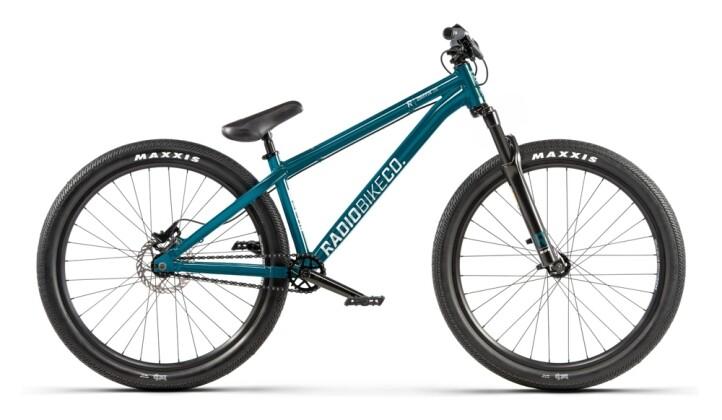 Mountainbike Radio Griffin grün 2021