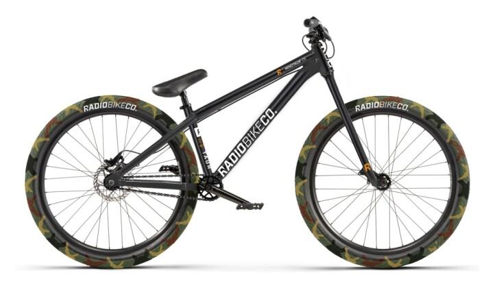 Mountainbike Radio Minotaur schwarz 2021