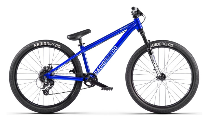 Mountainbike Radio Fiend blau 2021