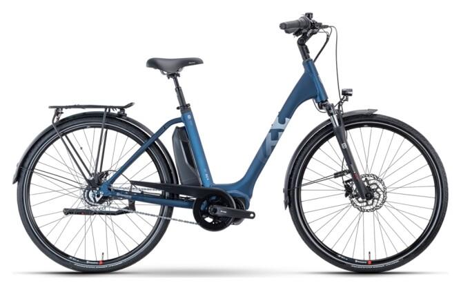 e-Citybike Husqvarna Bicycles Eco City 4 CB blue 2021