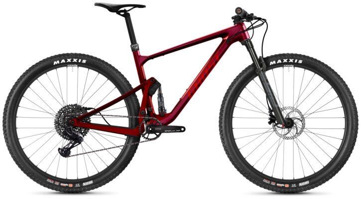 Mountainbike Ghost Lector FS SF UC U Advanced cherry 2021