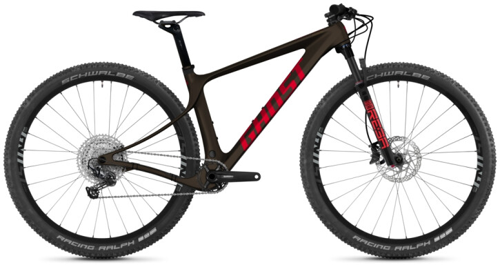 Mountainbike Ghost Lector SF LC Essential chocolate 2021