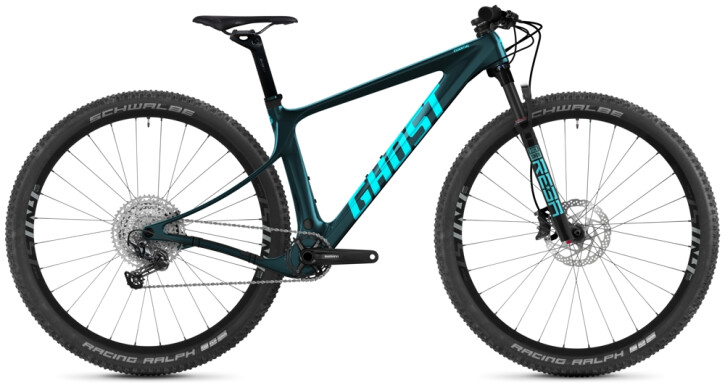Mountainbike Ghost Lector SF LC Essential petrol 2021