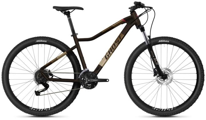 Mountainbike Ghost Lanao Universal 27.5 AL W brown 2021