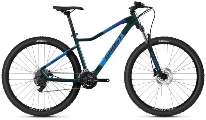 Mountainbike Ghost Lanao Base 27.5 AL W petrol 2021