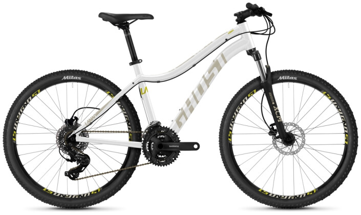 "Mountainbike Ghost Lanao 26"" Base AL U white 2021"