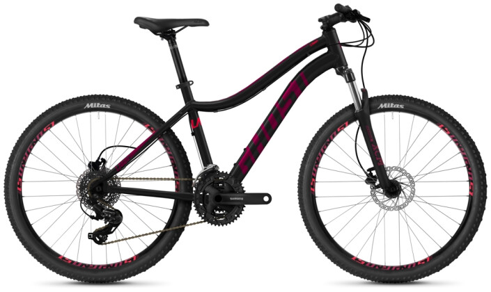 "Mountainbike Ghost Lanao 26"" Base AL U black 2021"