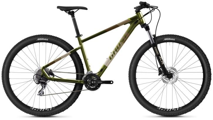 Mountainbike Ghost Kato Essential 29 AL U olive 2021