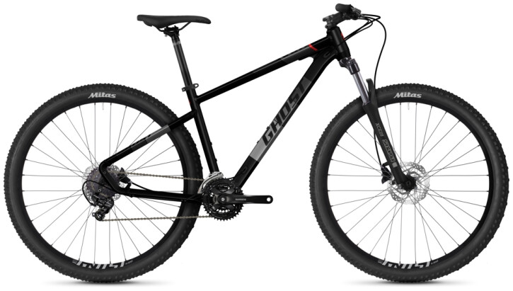 Mountainbike Ghost Kato Base 29 AL U black 2021