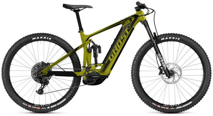 e-Mountainbike Ghost E-Riot Trail CF Advanced kiwi 2021