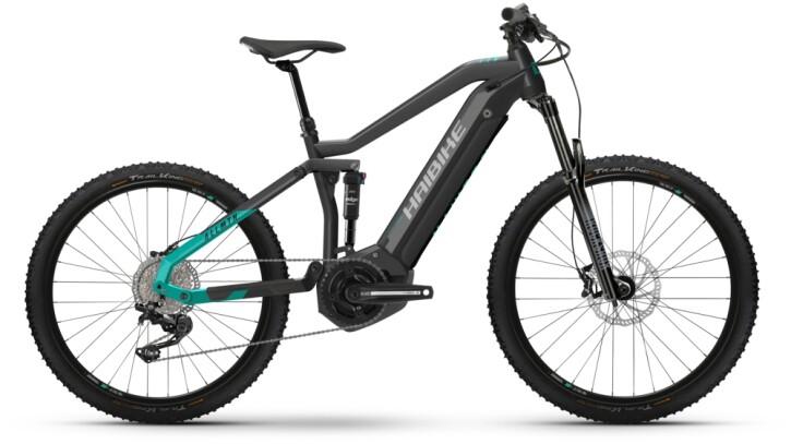 e-Mountainbike Haibike AllMtn 1 anthracite 2021