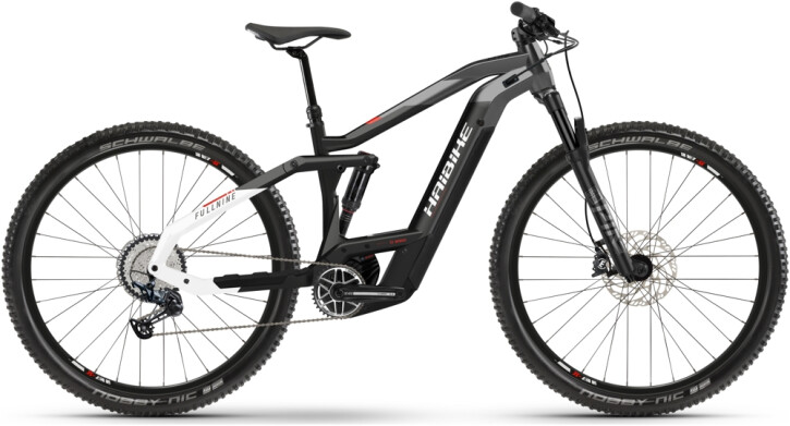 e-Mountainbike Haibike FullNine 9 black 2021