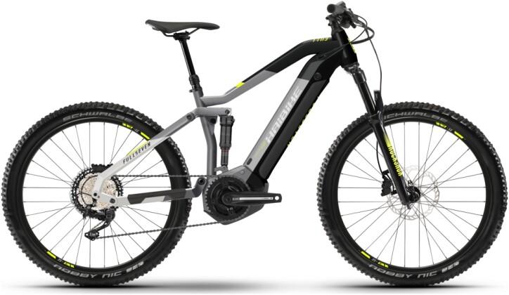 e-Mountainbike Haibike FullSeven 6 grey 2021