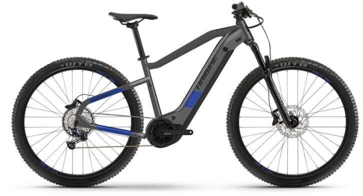 e-Mountainbike Haibike HardNine 7 anthracite 2021