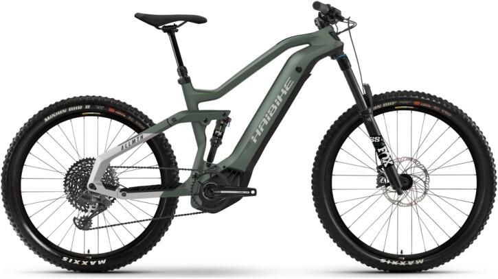 e-Mountainbike Haibike AllMtn 6 green 2021
