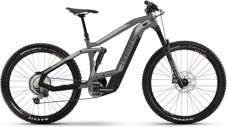 e-Mountainbike Haibike AllMtn 4 grey 2021