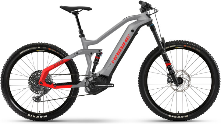 e-Mountainbike Haibike AllMtn 6 grey 2021