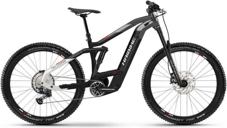 e-Mountainbike Haibike FullSeven 9 black 2021