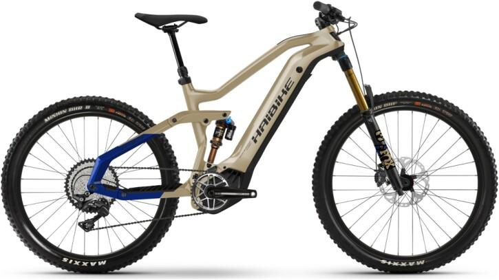 e-Mountainbike Haibike AllMtn 7 coffee 2021