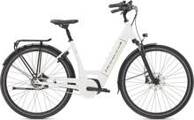 e-Citybike Diamant Beryll Deluxe+ TIE Weiss