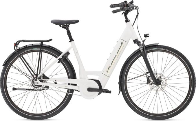 e-Citybike Diamant Beryll Deluxe+ TIE Weiss 2021
