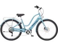 e-SUV Electra Bicycle Townie Path Go! 10D EQ Step-Thru Aqua Metallic