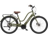 e-SUV Electra Bicycle Townie Path Go! 10D EQ Step-Thru Olive