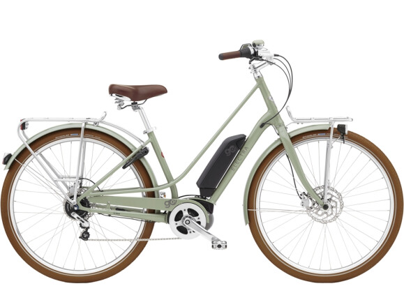 e-Trekkingbike Electra Bicycle Loft Go! 5i Step-Thru 500Wh Green Tea 2021