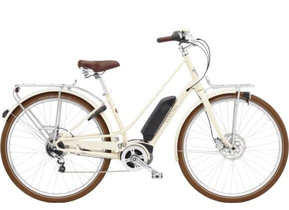 e-Trekkingbike Electra Bicycle Loft Go! 5i Step-Thru 400Wh Cream 2021